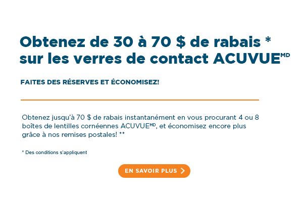 ACUVUE® Contact Lenses In-Store Sale | FYidoctors