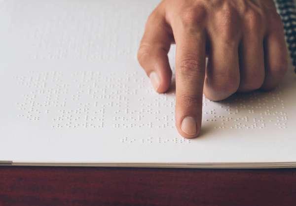 Braille Visually Impaired Children