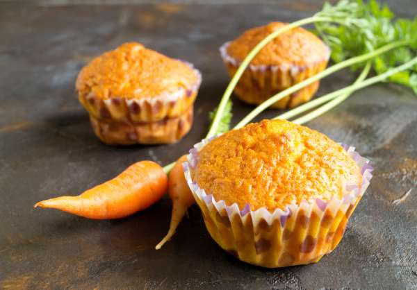 Country-Style Carrot Muffins