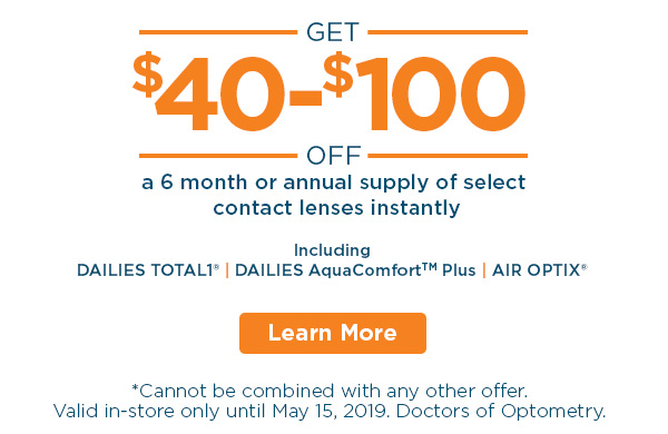 Alcon Content Lenses sale. Total1 ® and AquaComfort™ Plus Dailies and Air Optix ® Monthlies. In-store Discounts at all FYidoctors Clinic Locations.
