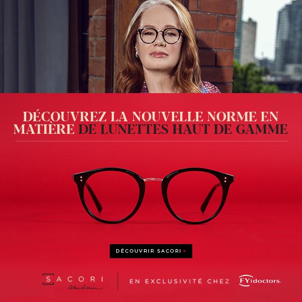 Female entrepreneur Arlene Dickinson wearing Sacori eyeglasses